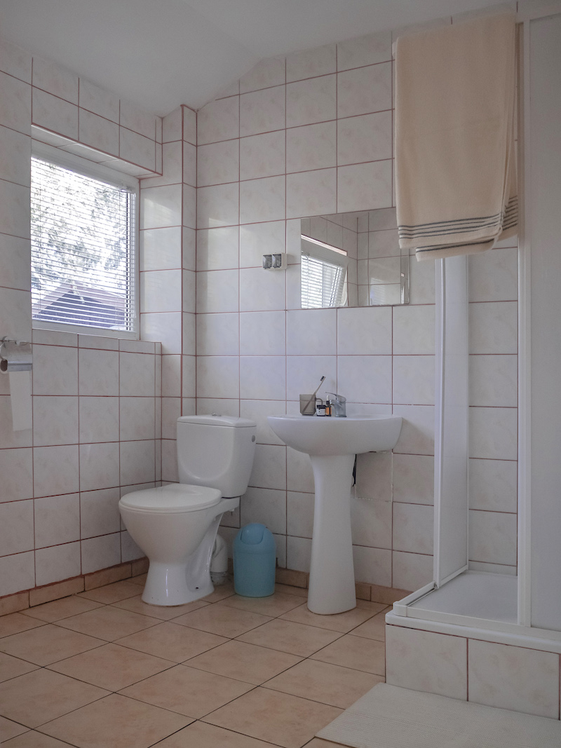 domek wypoczynkowy Dzierżązna, łazienka