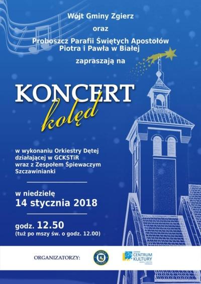 Koncert kolęd 2018