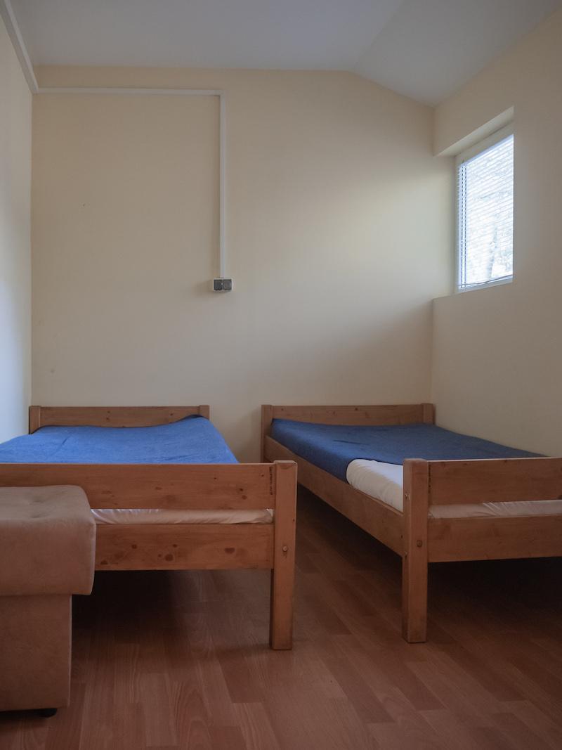 domek wypoczynkowy Dzierżązna, sypialnia