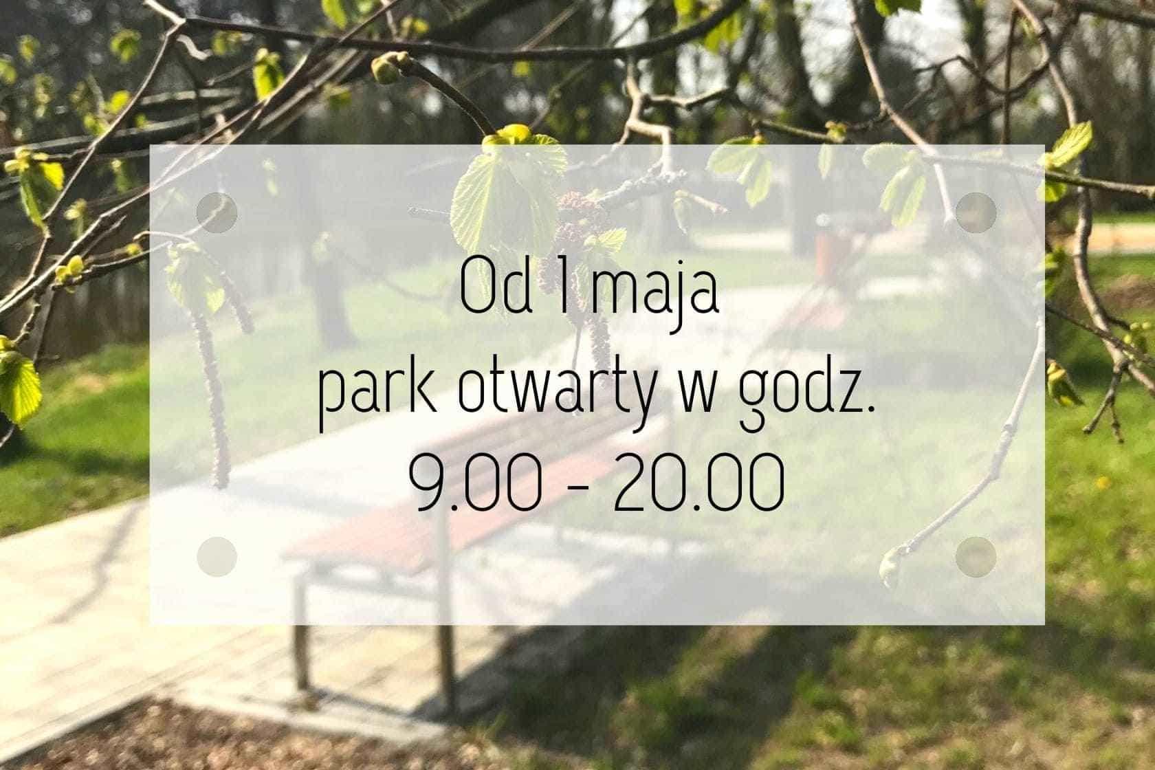 aktualności, komunikat, park dworski