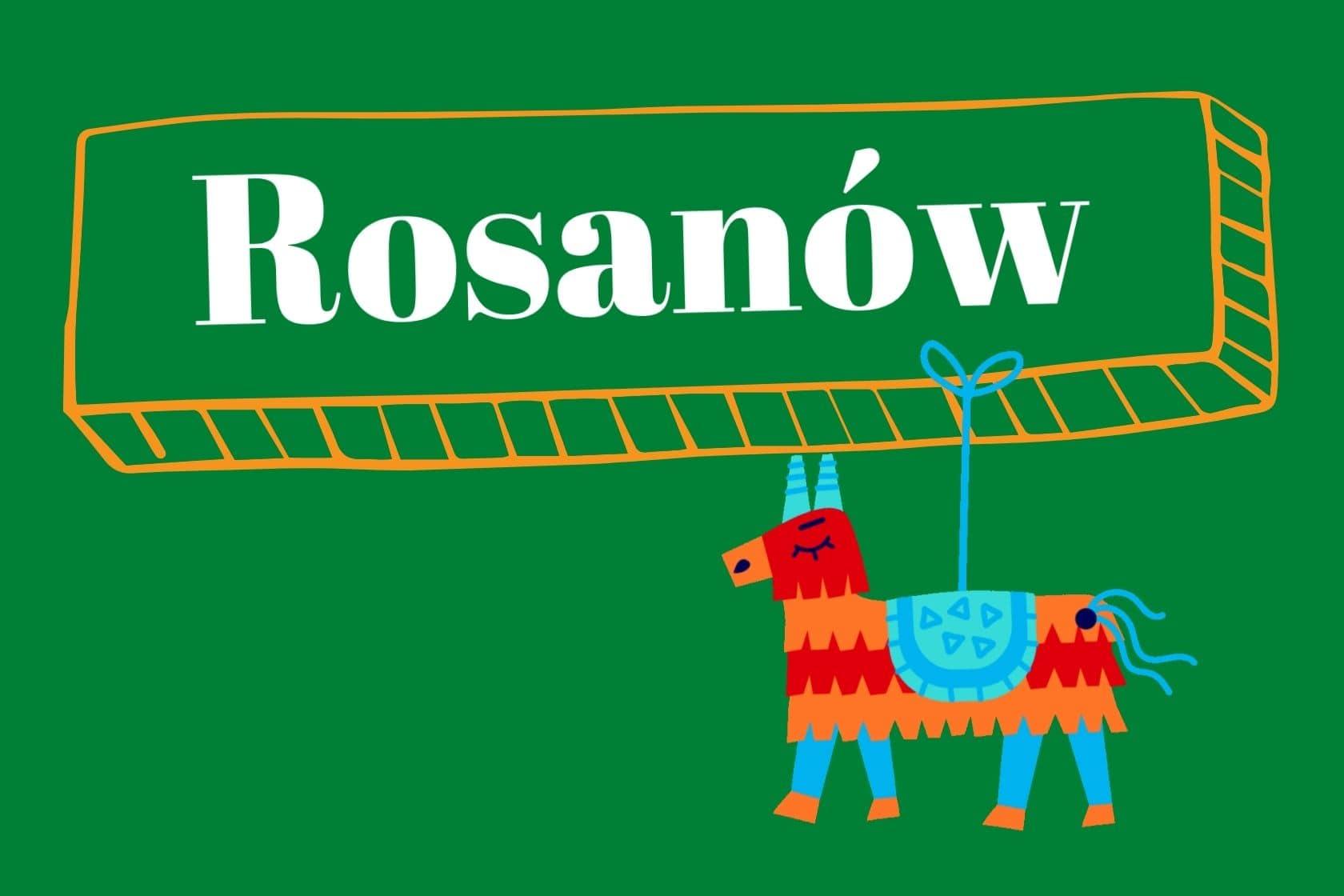 Rosanów, remont boiska