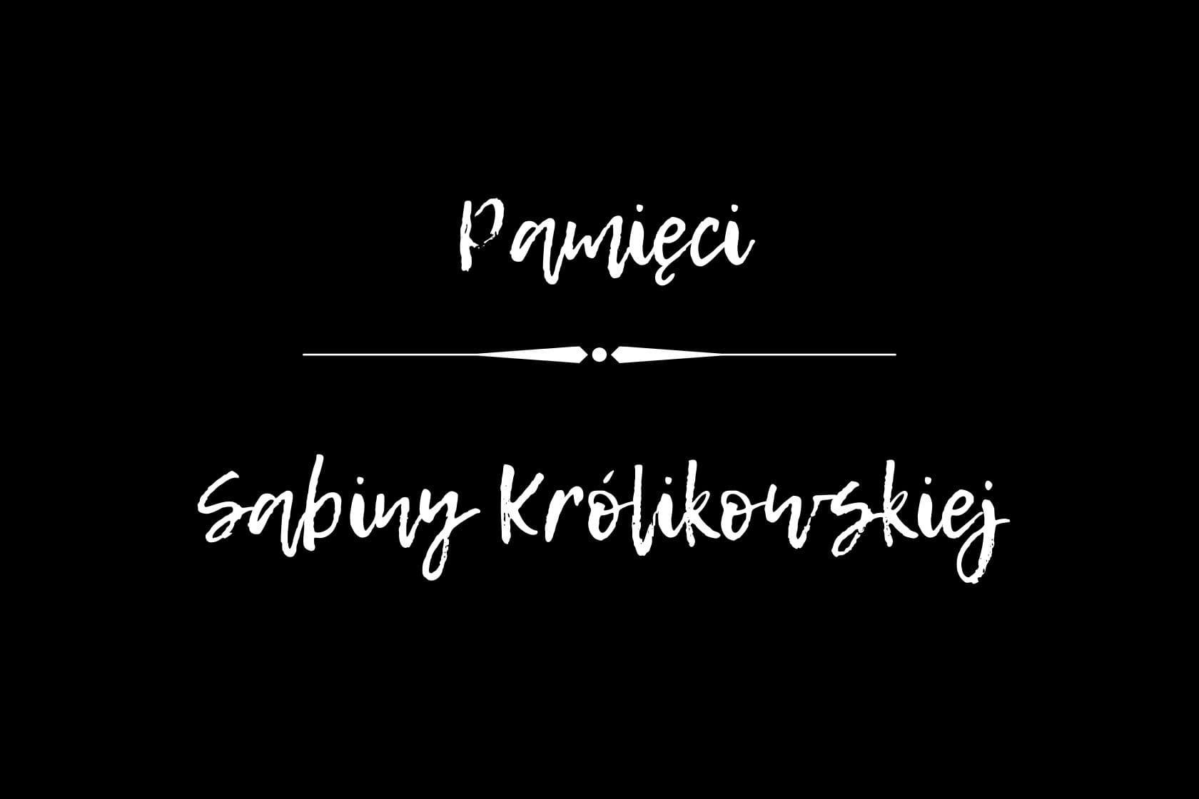 Pożegnanie Sabiny Królikowskiej, Szczawinianki, Szczawin