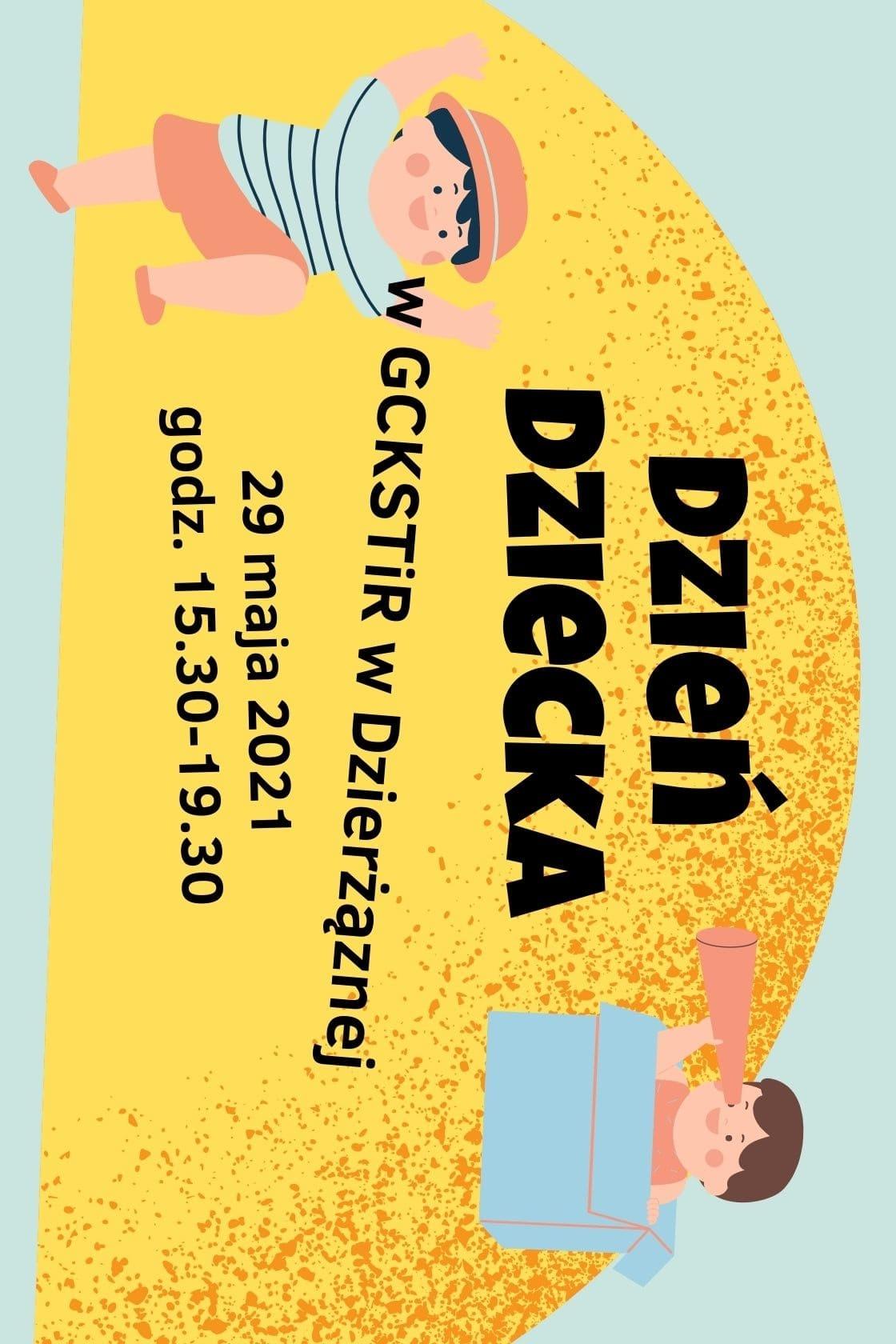 Dzień Dziecka 2021, GCKSTiR w Dzierżąznej, gmina Zgierz