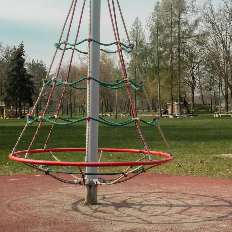 plac zabaw, Dzierżązna, gmina Zgierz, linarium