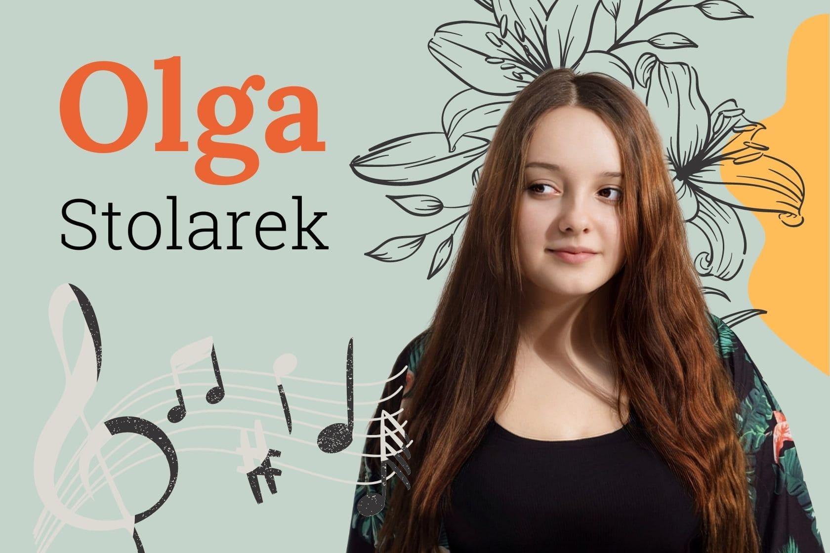 Olga Stolarek, Heima, ludzie, gmina Zgierz, Rosanów