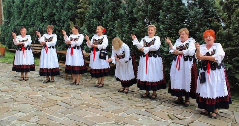 Szczawinianki ze Szczawina, zespół śpiewaczy