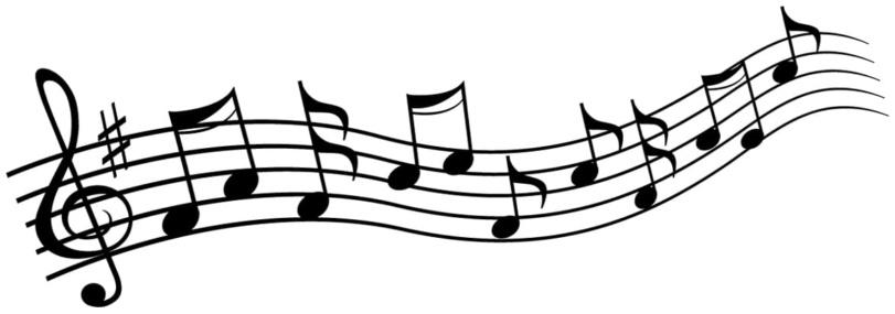 nuta, pięciolinia, muzyka