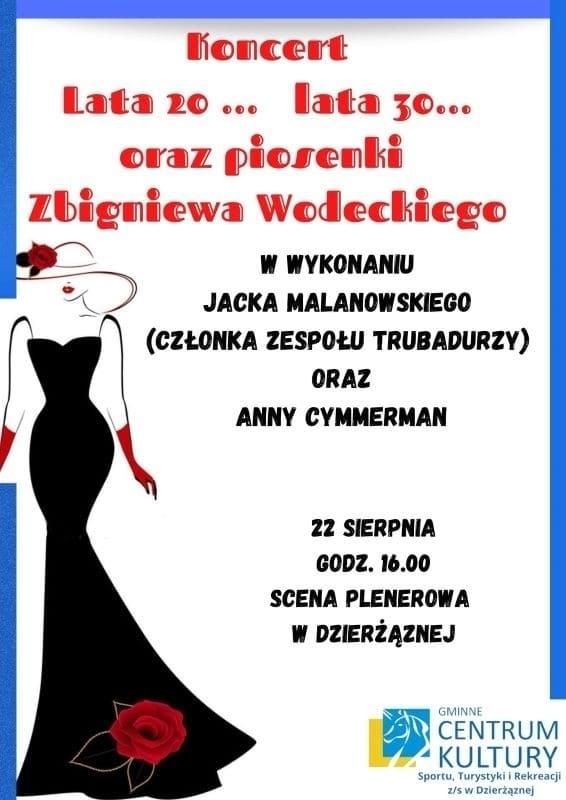 koncert, piosenki Wodeckiego