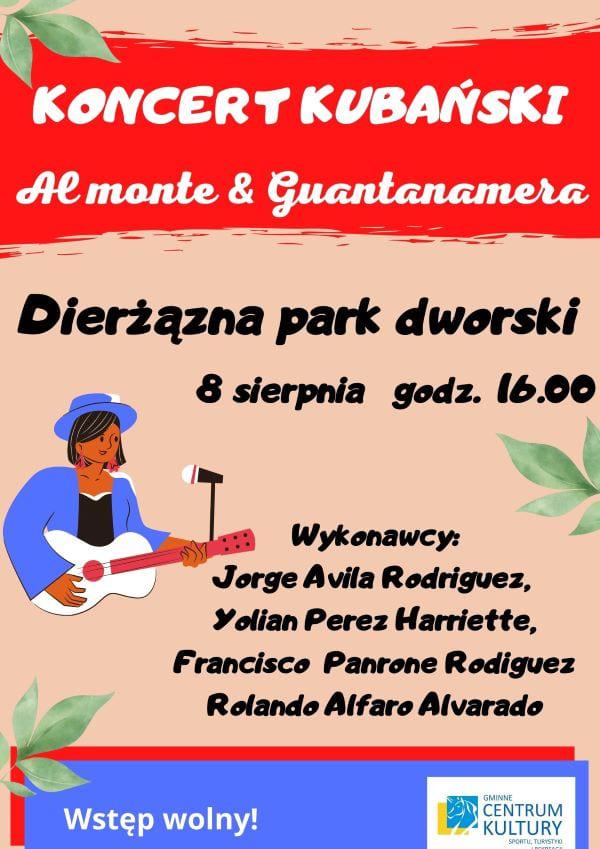 koncert, park dworski, Dzierżązna