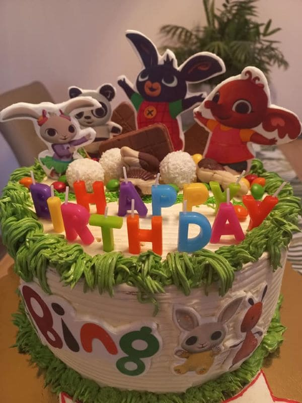 tort, urodziny